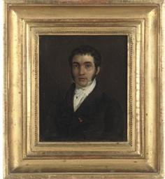 Two portraits of gentlemen in
