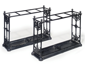 A PAIR OF COALBROOKDALE BLACK