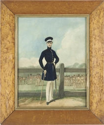 Portrait of a British officer