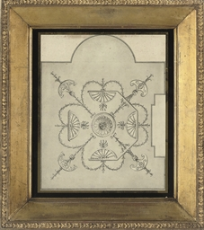 A neo-classical ceiling design