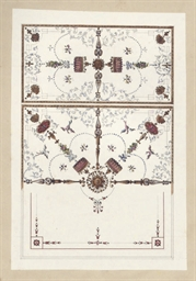 A design for a ceiling