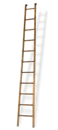 AN ELM LIBRARY LADDER