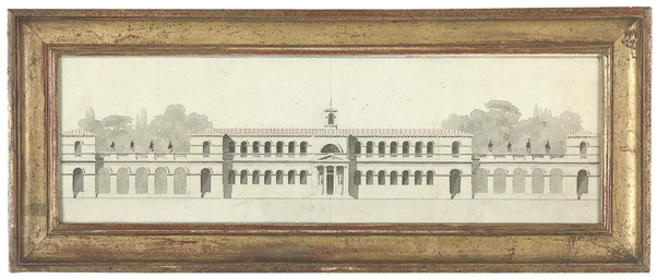 Design for a palace façade