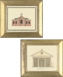 Front elevation for the Church