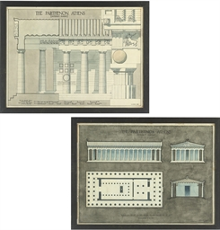 Cross-section of the Parthenon
