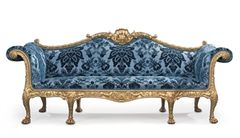 A George Iii Giltwood Sofa Designed By Robert Adam And Made By Thomas Chippendale 1765 18th