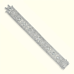 A BELLE EPOQUE DIAMOND BRACELE