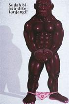 Sudah biasa di telanjangi (Used to being stripped)