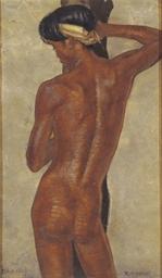 Portrait of a nude boy