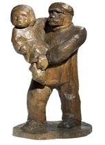 Arbeiter mit Kind