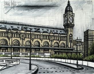 La gare de Lyon et l'horloge