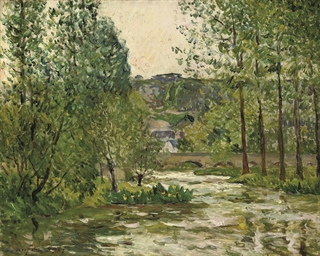 Le Loir à Lavardin, Loir et Ch