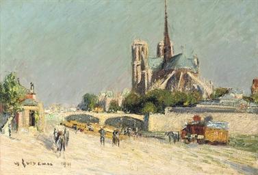 Quai de la Seine, Notre-Dame