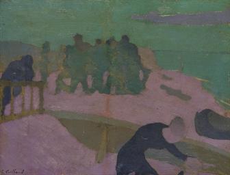 La plage violette