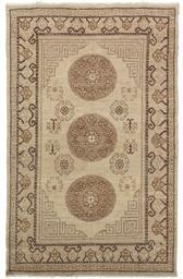 An antique Khotan large rug