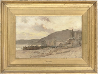 On the beach, Alassio