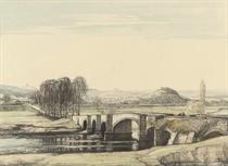 The Countess Weir Bridge on the River Exe