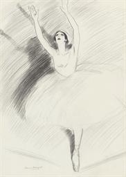 Study of a ballerina