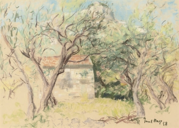 An orchard in France