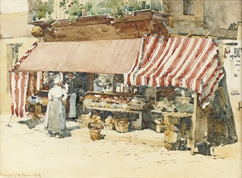 A Normandy fruit shop, St. Pie