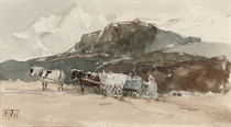 Carting sand (illustrated); and Sandhills, Southbourne