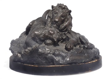 AN ITALIAN BRONZE MODEL OF A L