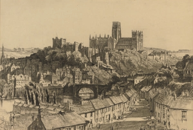 View of Durham Cathedral