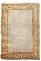 An antique Ushak carpet