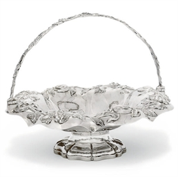 A WILLIAM IV SILVER SWING-HAND