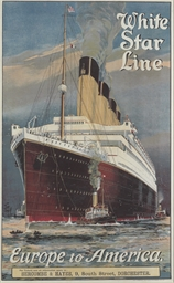 White Star Line, Europe to Ame