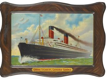 Cunard Steamers, Carmania - Ca