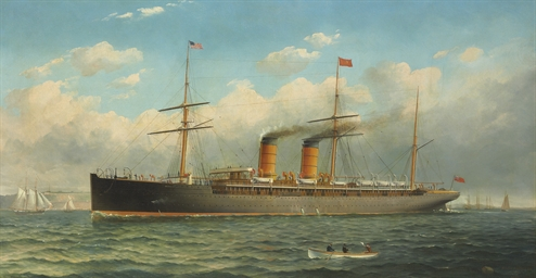 The Cunard Liner R.M.S. Umbria