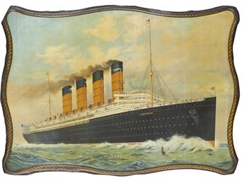 S.S. Luisitania, Cunard Line,