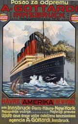 Cunard Line R.M.S. Maurentania