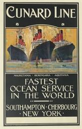 Cunard Line, Mauretania, Beren