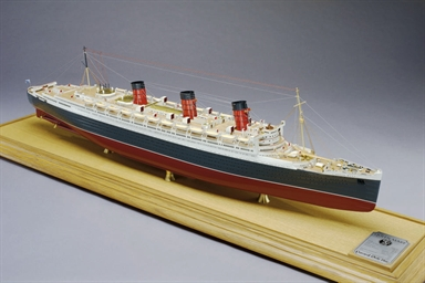 A fine scale model of the R.M.