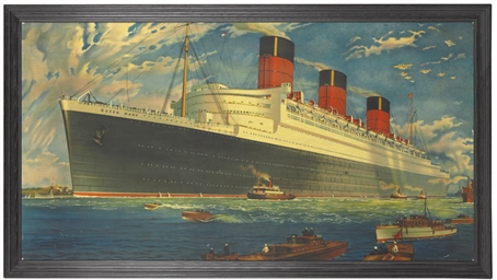 R.M.S. Queen Mary Outward Boun