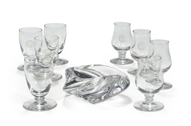 A set of glasses from the S.S.