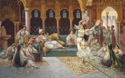 A harem dance