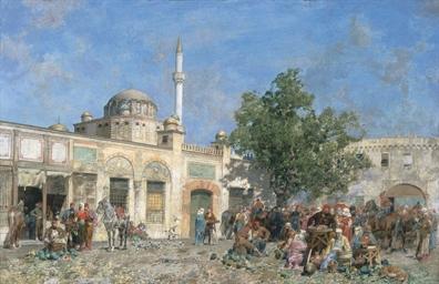 Il mercato di Costantinopoli,