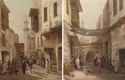 Street scenes in Cairo
