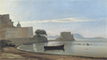 The Bay of Naples with the Castel dell'Ovo