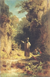 Der Angler: The fisherman