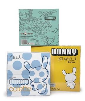 Kidrobot Dunny Complete Sets (3)