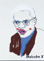 Malcolm X (Small Version I) #2