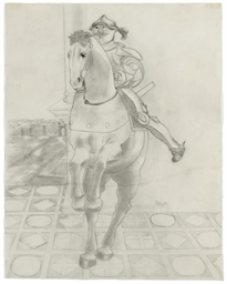 Study for 'The Horse of the Ap
