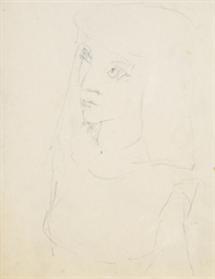 Portrait of Elaine de Kooning