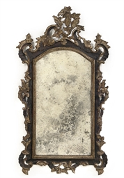 A NORTH ITALIAN GILTWOOD, GILT