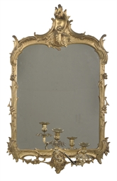 A DUTCH ORMOLU MOUNTED GILTWOO
