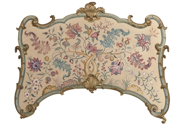 A DUTCH PARCEL-GILT AND BLUE P